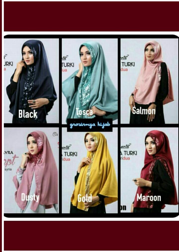 hijab jilbab kerudung SYIRIA TURKI