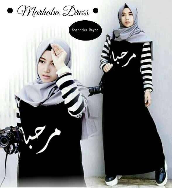 marhaba dress / dress murah / hijab murah / baju muslim / gamis