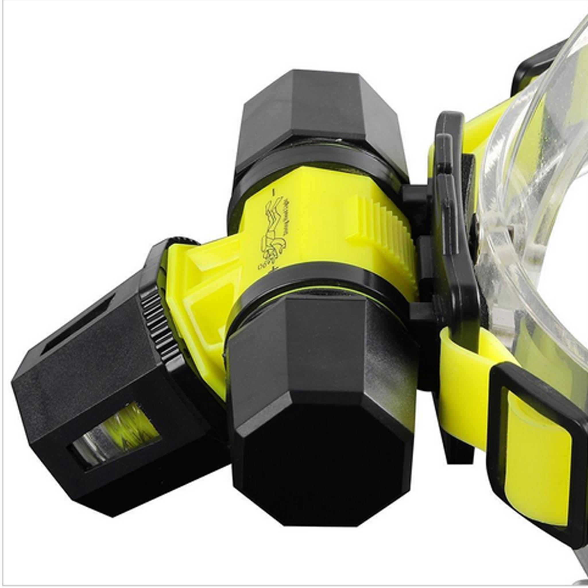Jual Senter Selam Kepala Dalam Air LED CREE XML-T6 + Zoom + 18650 +