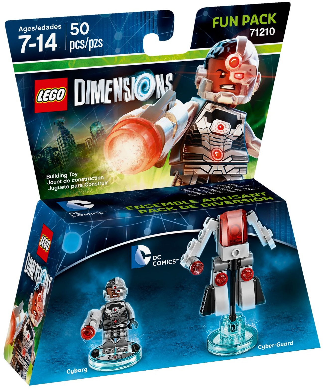 LEGO 71210 - Dimensions - Fun Pack: Cyborg