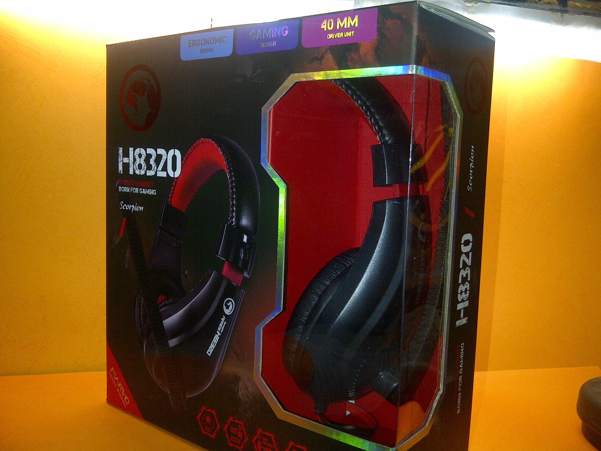Marvo H8629 H8329 Headset Gaming Hitam Daftar Harga Terbaru Dan Headseet Jual Headphone H8320 Istimewa Yulyan83 Shop Tokopedia