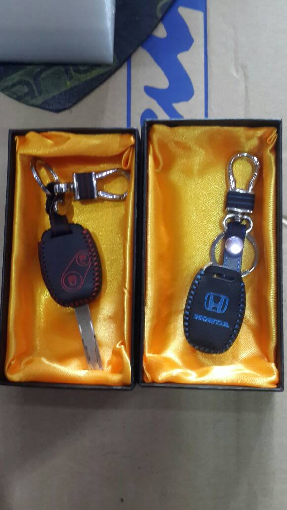 Cover Key / Sarung Kunci Kulit - Honda Jazz Mobilio & Brio