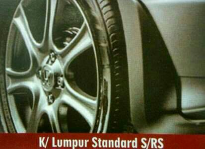 Karpet lumpur /mud guard type S /RS all new jazz