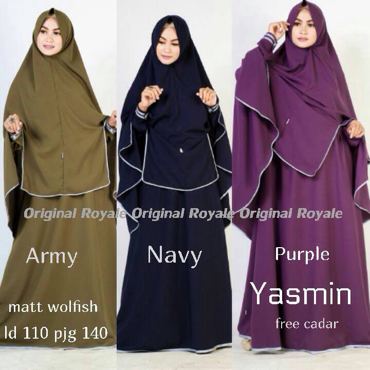 SUPPLIER HIJAB : YASMIN SYARI BY ROYALE