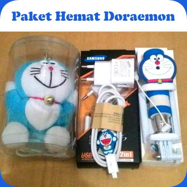 Jual Paket Hemat Doraemon 3in1 Charger Tongsis Powerbank karakter - ika Dewi Accesories | Tokopedia