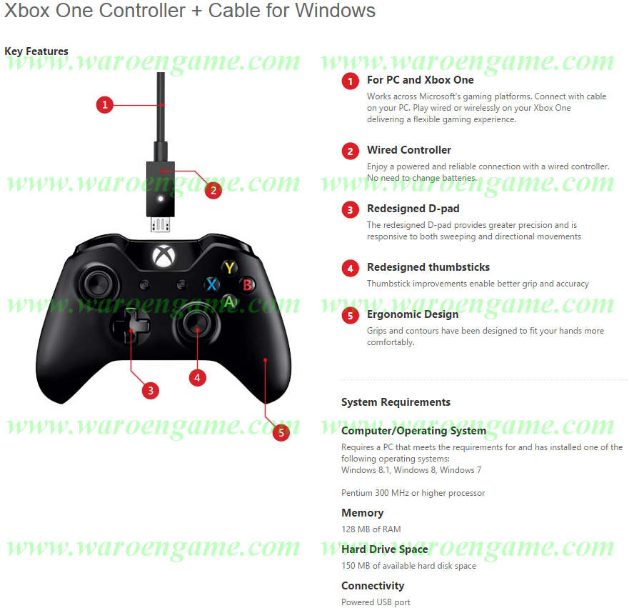 how to use xbox controller for windows 7