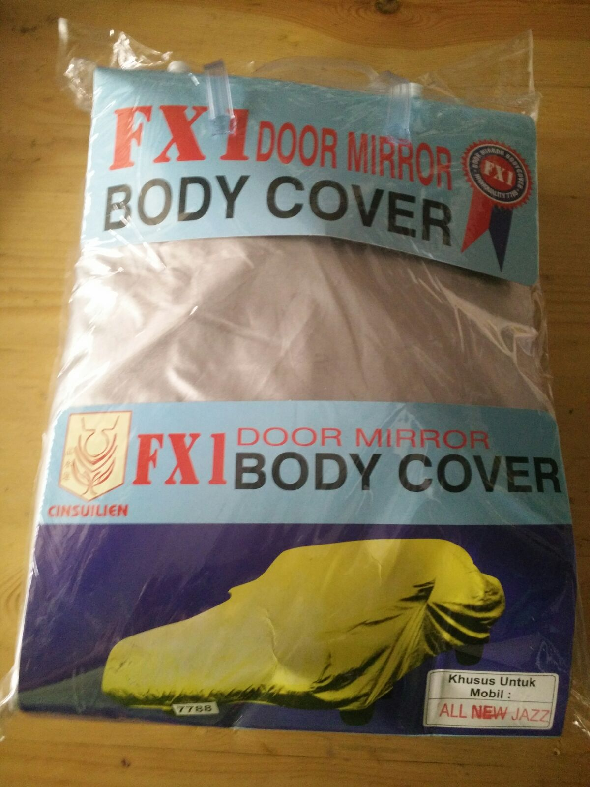 Body Cover Yaris Jazz