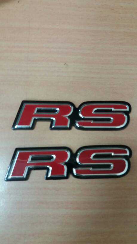 Emblem RS honda jazz