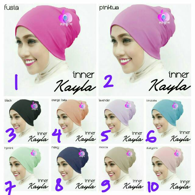 Inner Kayla By Apple Hijab Brand