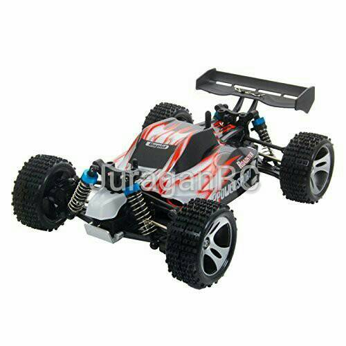 RC Car Wl Toys Vortex A959 1/18 4WD 2,4Ghz Buggy Off Road RTR - Red