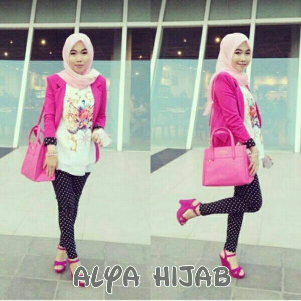 Alya Hijab set Rain