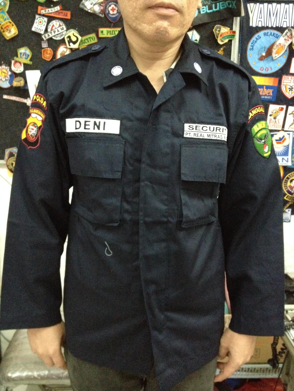 Jual SERAGAM SECURITY PDL