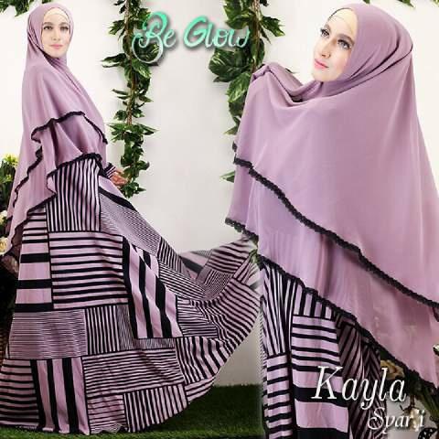 Hijab Kayla Syar'i 2in1 ( Maxi + bergo )