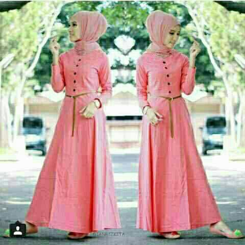 Hijab / Amel Maxy Peach