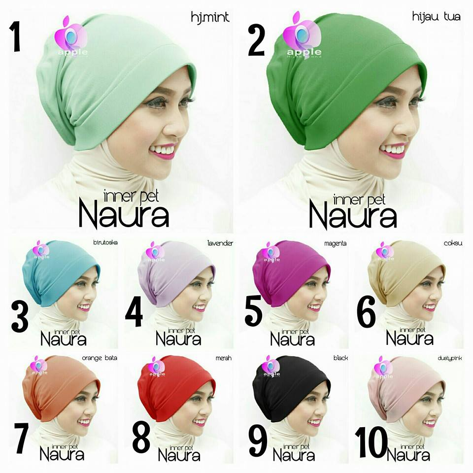 Inner Pet NAURA by Apple Hijab