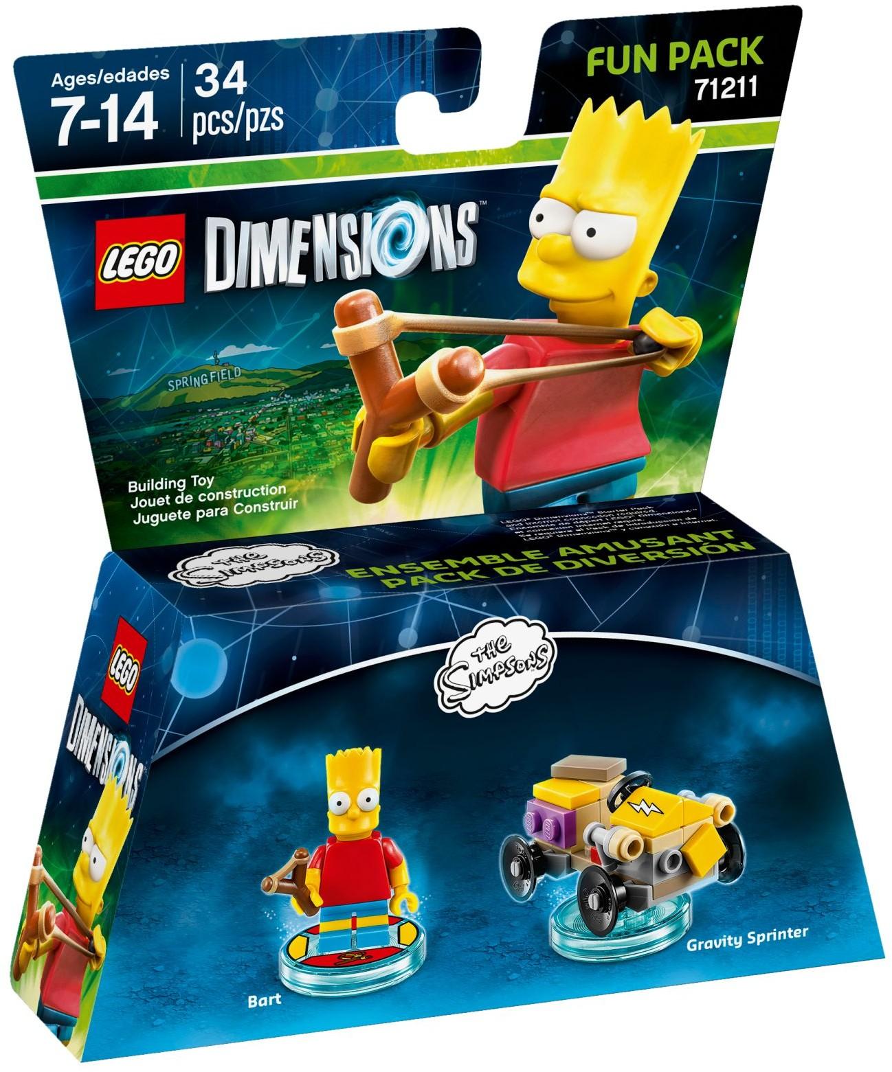 LEGO 71211 - Dimensions - Fun Pack: Bart Simpson