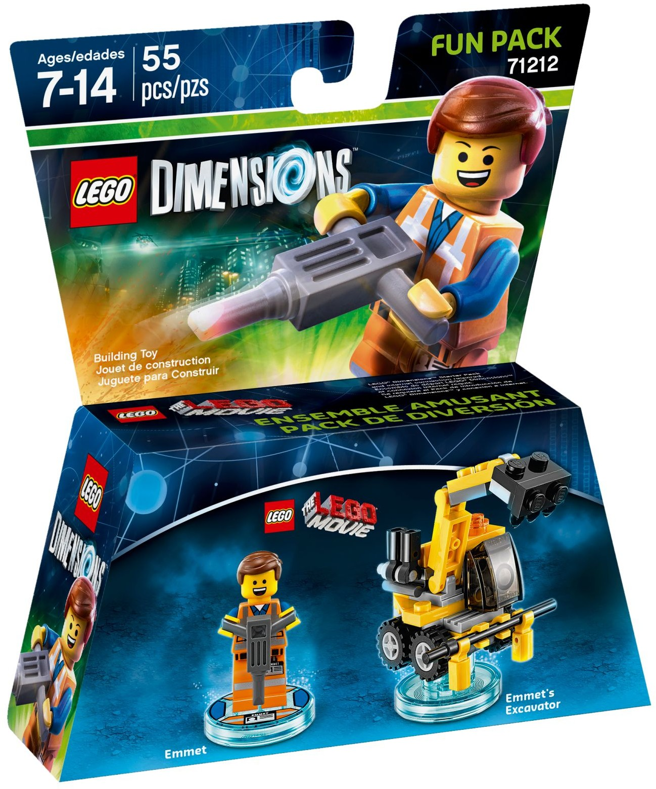 LEGO 71212 - Dimensions - Fun Pack: Emmet