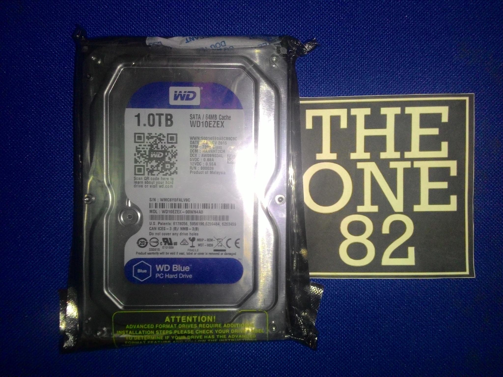 Jual Wd Blue 1tb Hard Disk Internal 35 Sata3 64mb The One82 Wdc Wd10ezex Garansi 2 Th Tokopedia