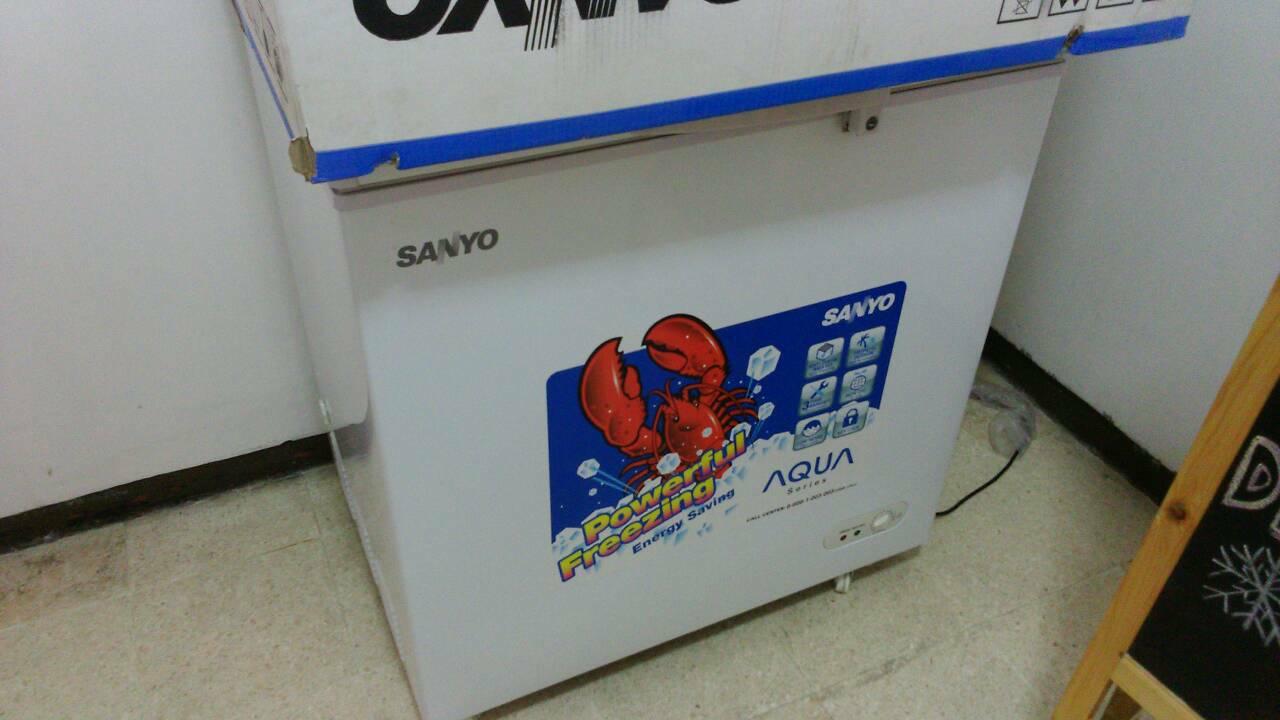 Jual Freezer Box SANYO Aqua Series SF C18KW