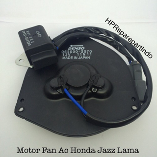 Kipas Radiator / Motor Fan Condensor Ac For Mobil Honda Jazz Lama 3070
