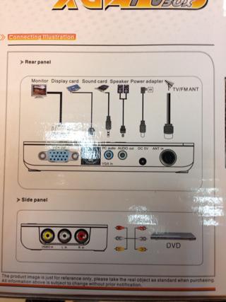 Jual TV Tuner LCD XGA TV Box