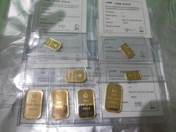 01 Gram Fine Gold Bar 999 9 Emas Murni Batangan 24k Lm Antam Page