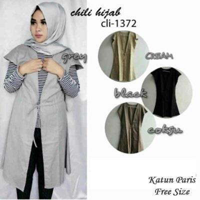 Cardigan Murah / Chili Hijab Vest