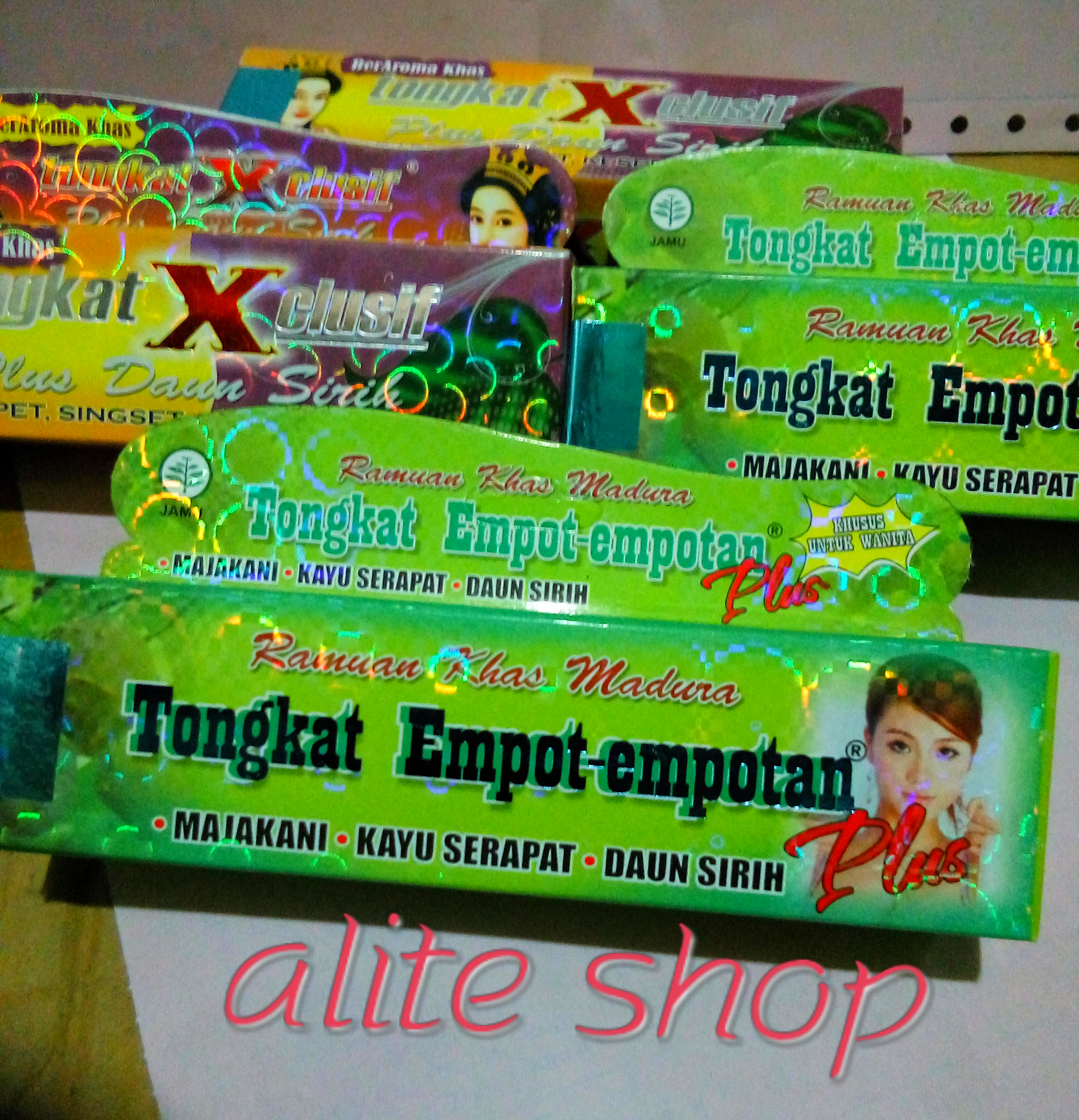 Jual Tongkat Madura Empot Empotanexlusif Alite Shop Tokopedia