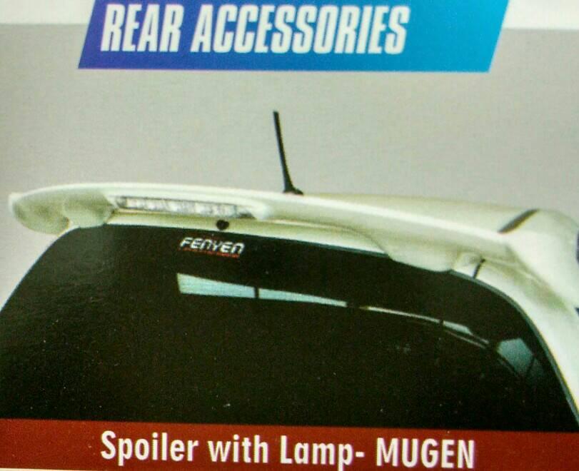 SPOILER JAZZ 2012 MODEL MUGEN DENGAN LAMPU