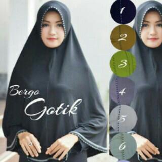 Jilbab Hijab Kerudung Jilbab Instan Jilbab Bergo Gotik