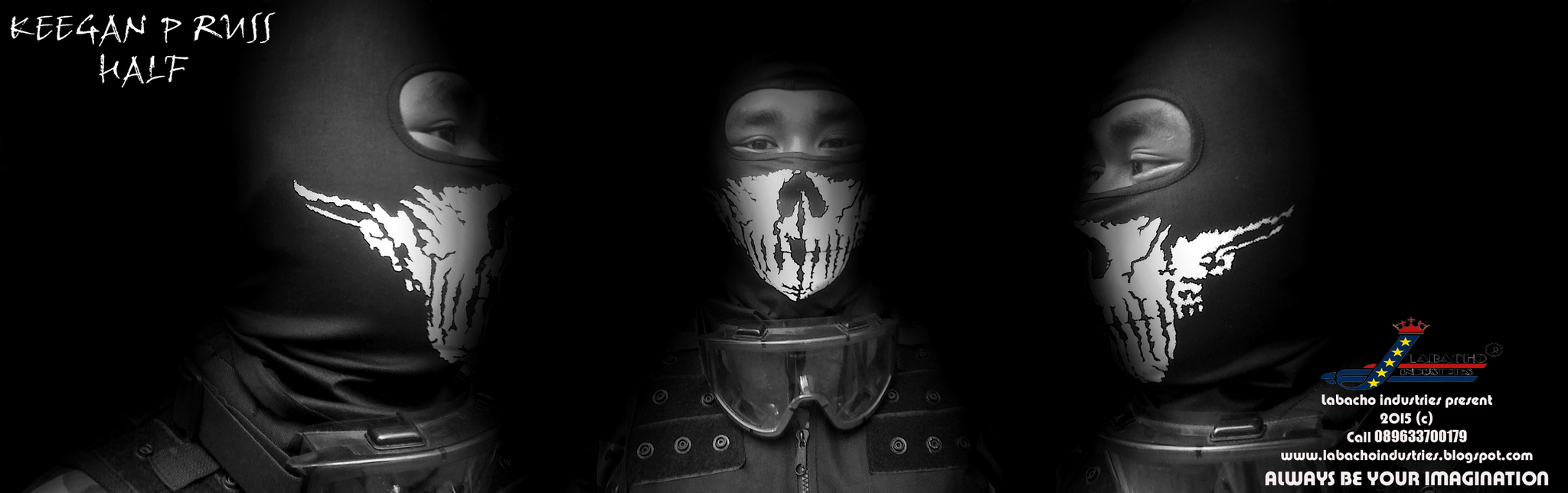 Jual BALACLAVA CALL OF DUTY GHOST KEEGAN P RUSS HALF - NAZZA ...