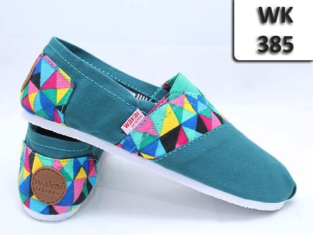 Jual WAKAI Shoes WK-385 WK385 Sepatu Casual Wanita Flatshoes ... 4d504bf669