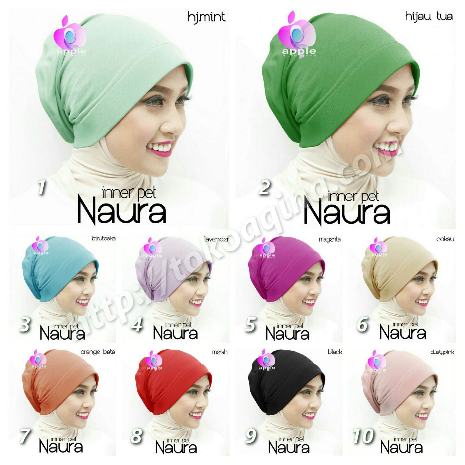 Inner Naura by Apple Hijab Brand