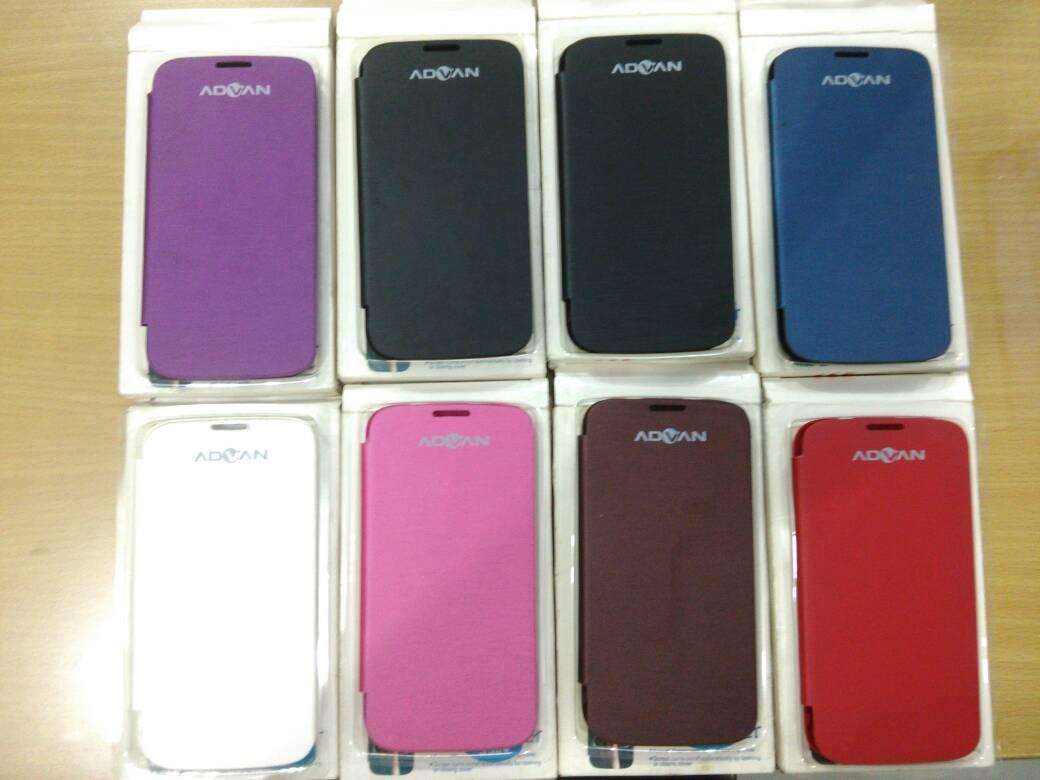 Jual Flipcover Advan S5e Flipcase Softcase Leather Case Hardcase S5 E Pro Putih Casing Aksesoris Hp Dan Tablet Tokopedia