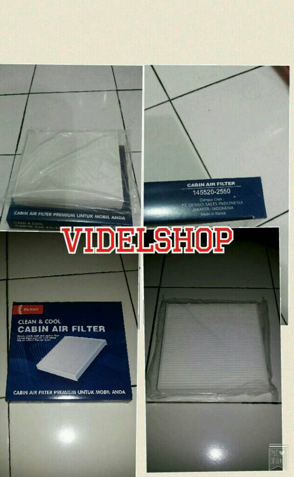 FILTER CABIN DENSO JAZZ RS , FREED , MOBILIO , HRV , BRV