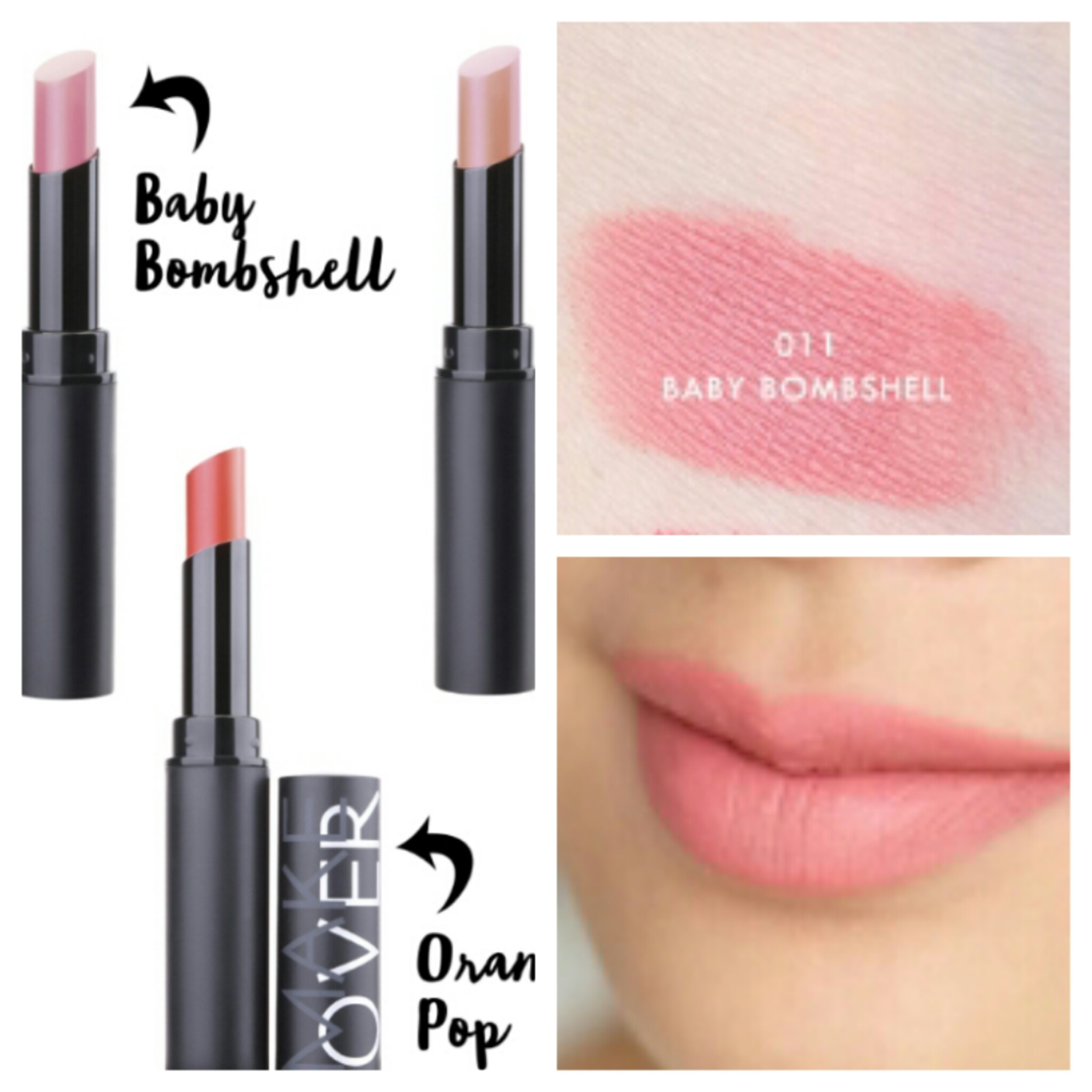 how to make lipstick matte with baby powder