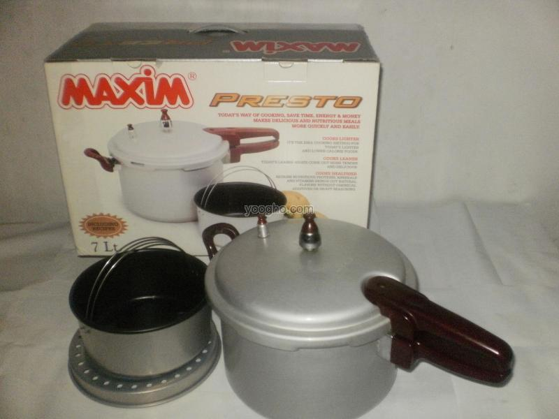 Harga Spesifikasi Maxim Presto Teflon 12 Liter