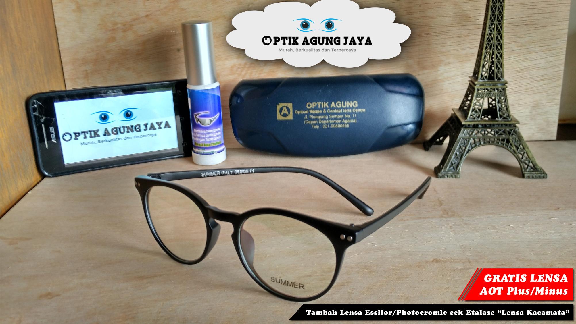 Jual Frame Lensa Kacamata Summer Murah Optik 5c59abc938