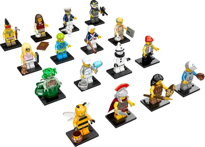 LEGO 71001 - LEGO Minifigures Series 10 Complete Full Set (16pcs) MISP