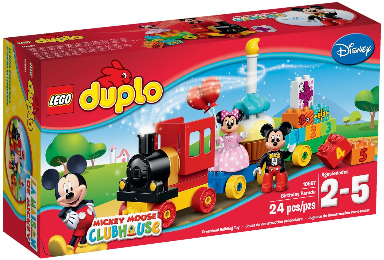 LEGO 10597 - Duplo - Mickey & Minnie Birthday Parade