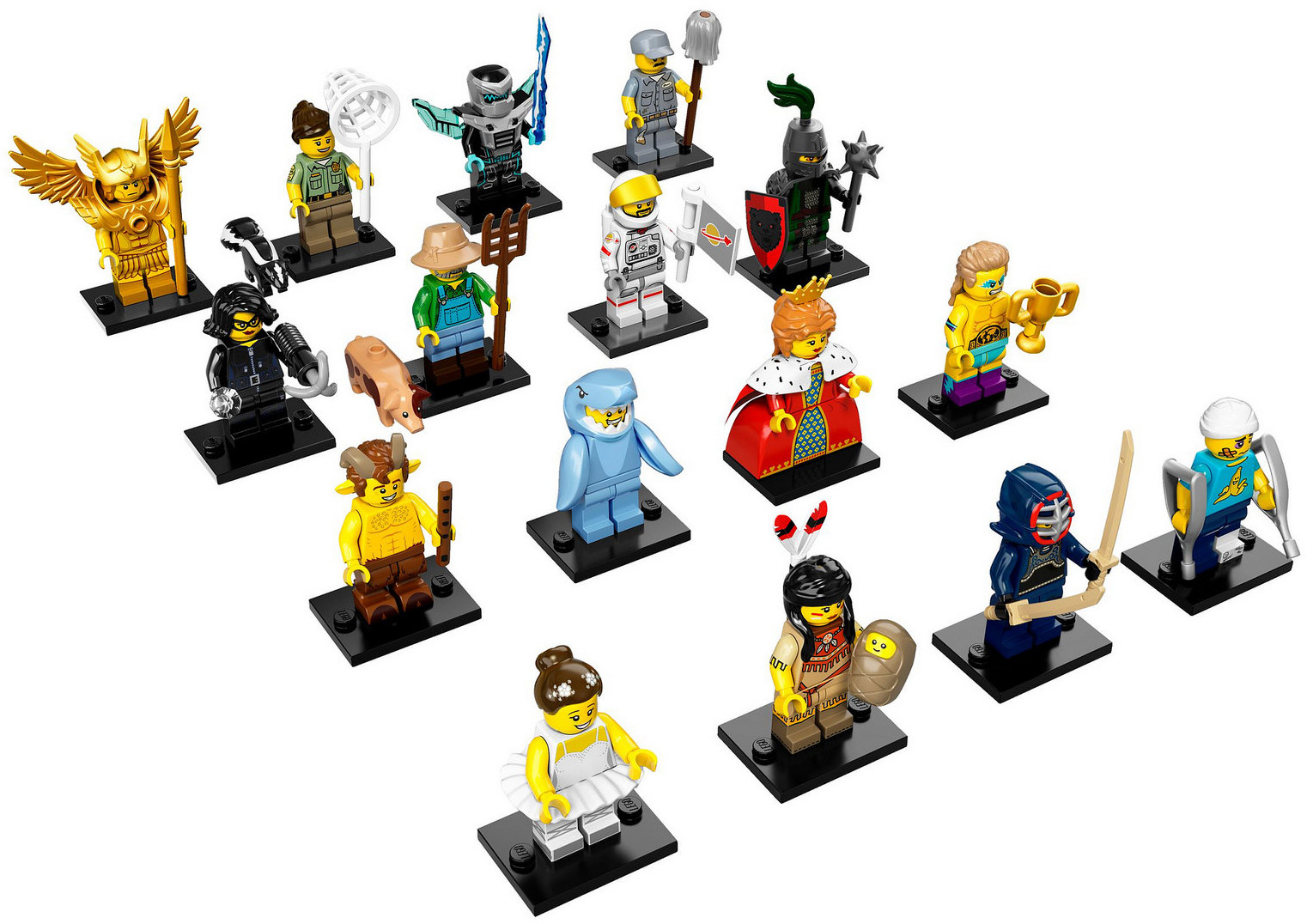 LEGO 71011 - LEGO Minifigures Series 15 Complete Full Set (16pcs) MISP