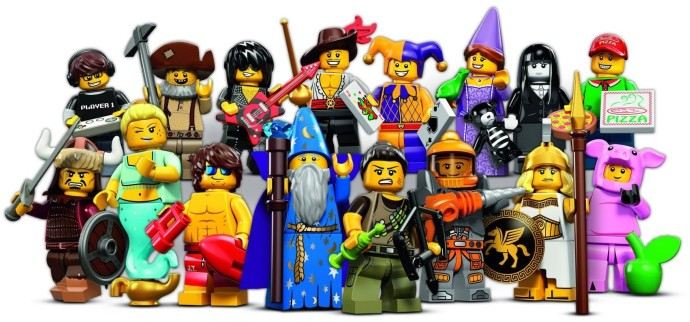 LEGO 71007 - LEGO Minifigures Series 12 Complete Full Set (16pcs) MISP