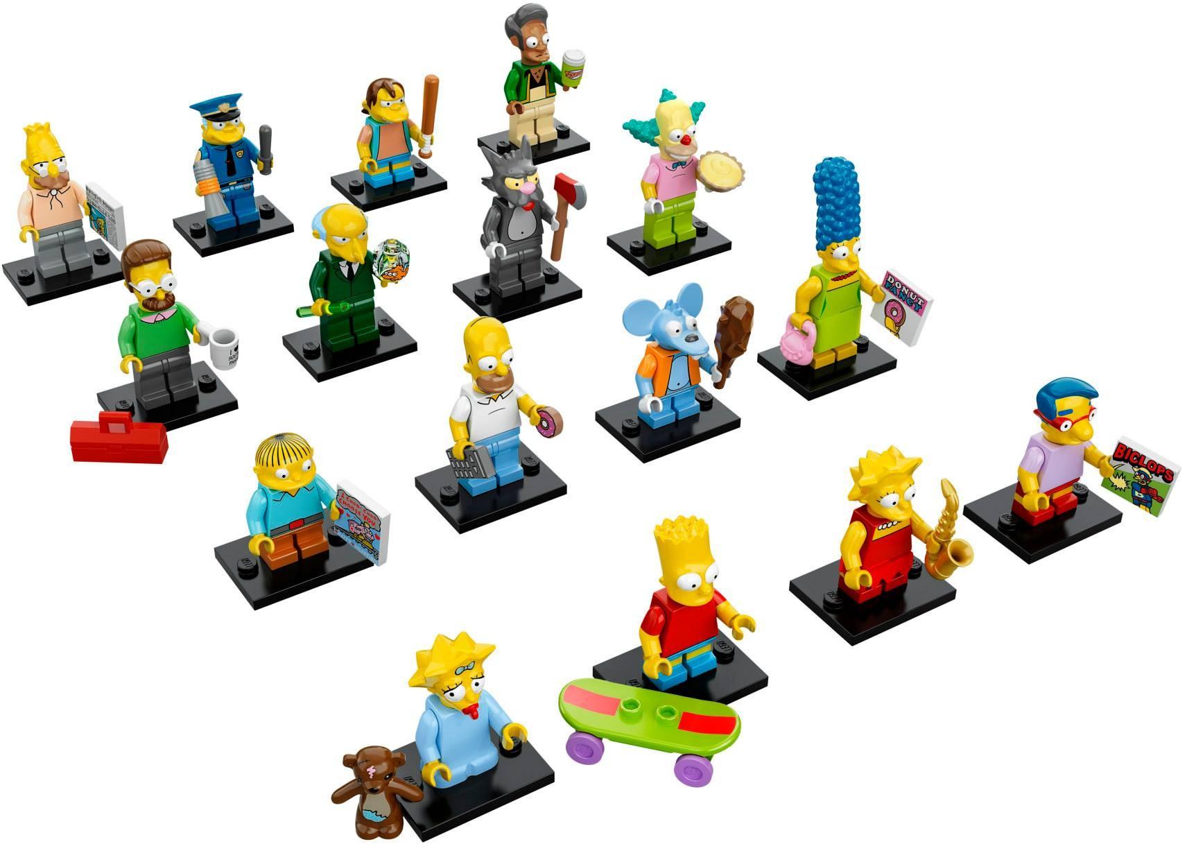 LEGO 71005 - LEGO Simpsons Series 1 Complete Full Set (16 pcs) MISP
