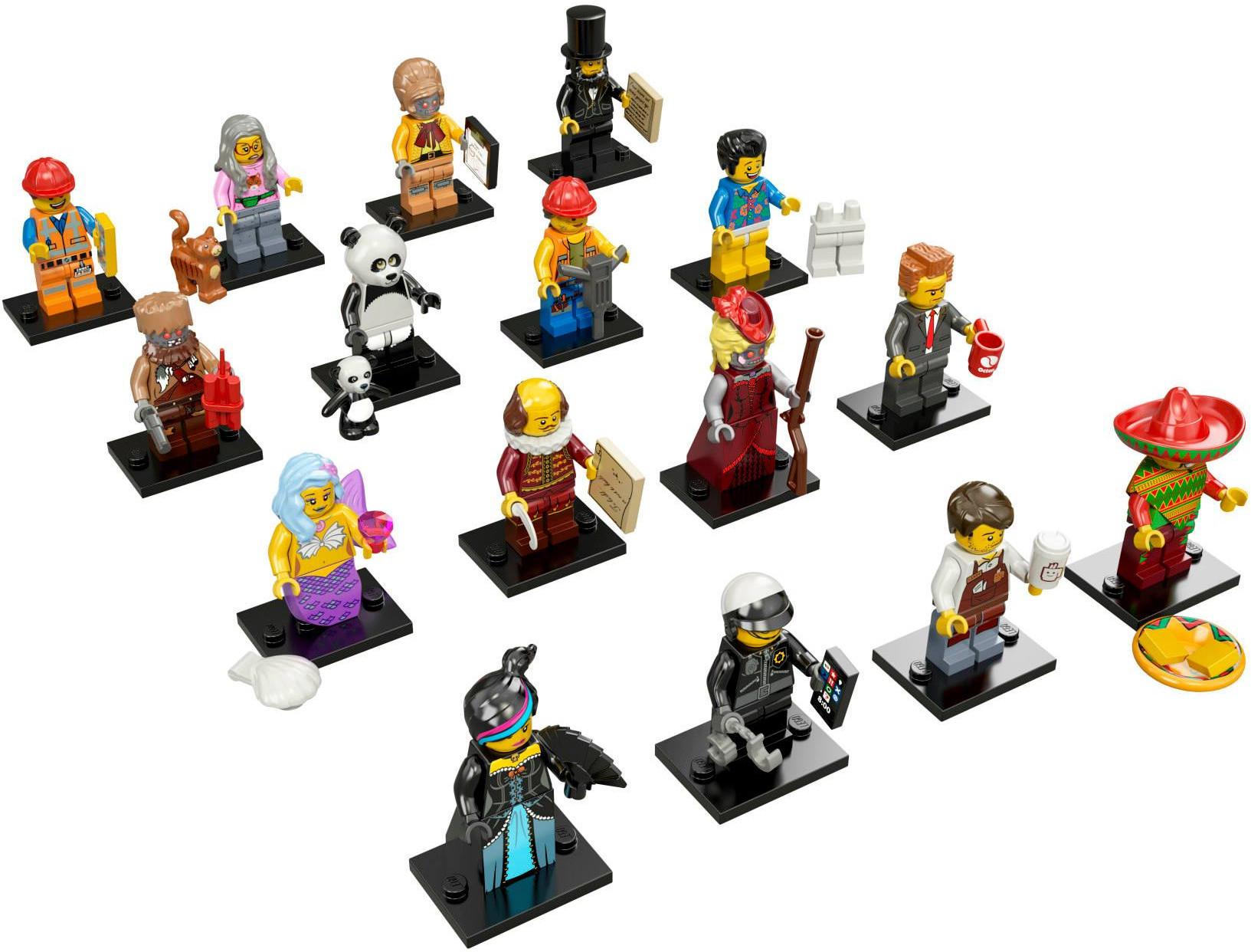 LEGO 71004 - LEGO Movie Series Complete Full Set (16 pcs) MISP