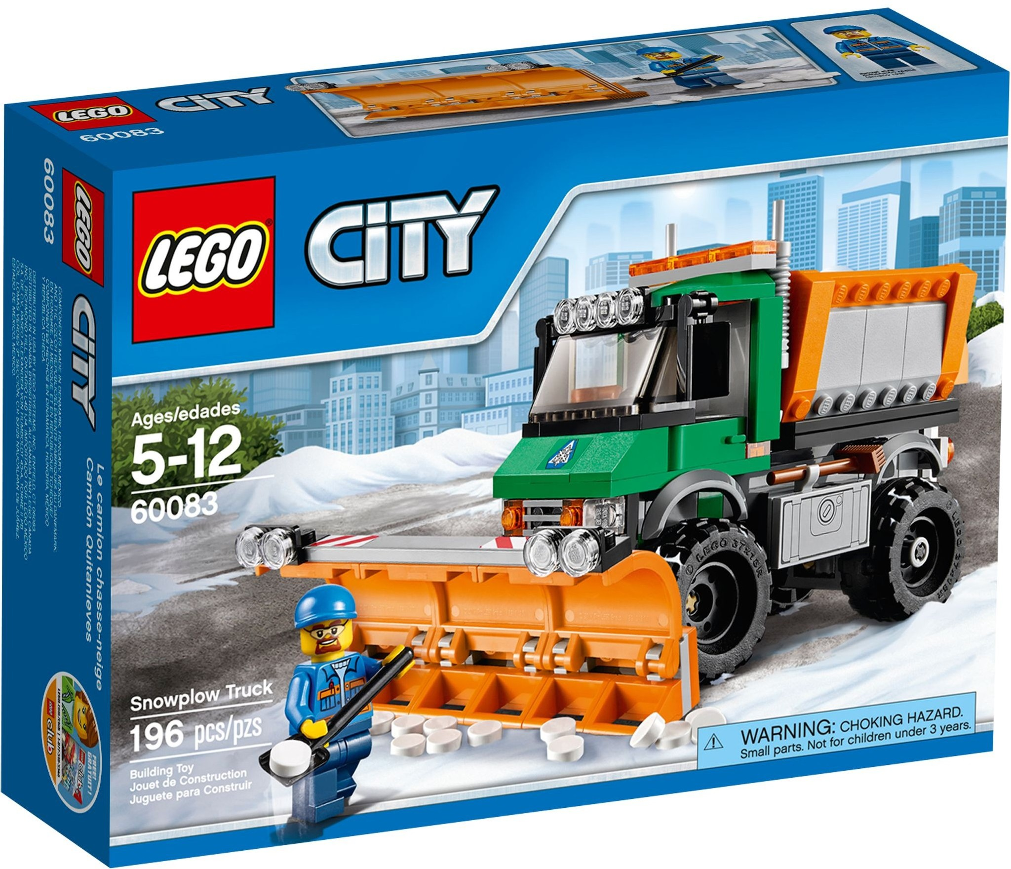 LEGO 60083 - City - Snowplough Truck