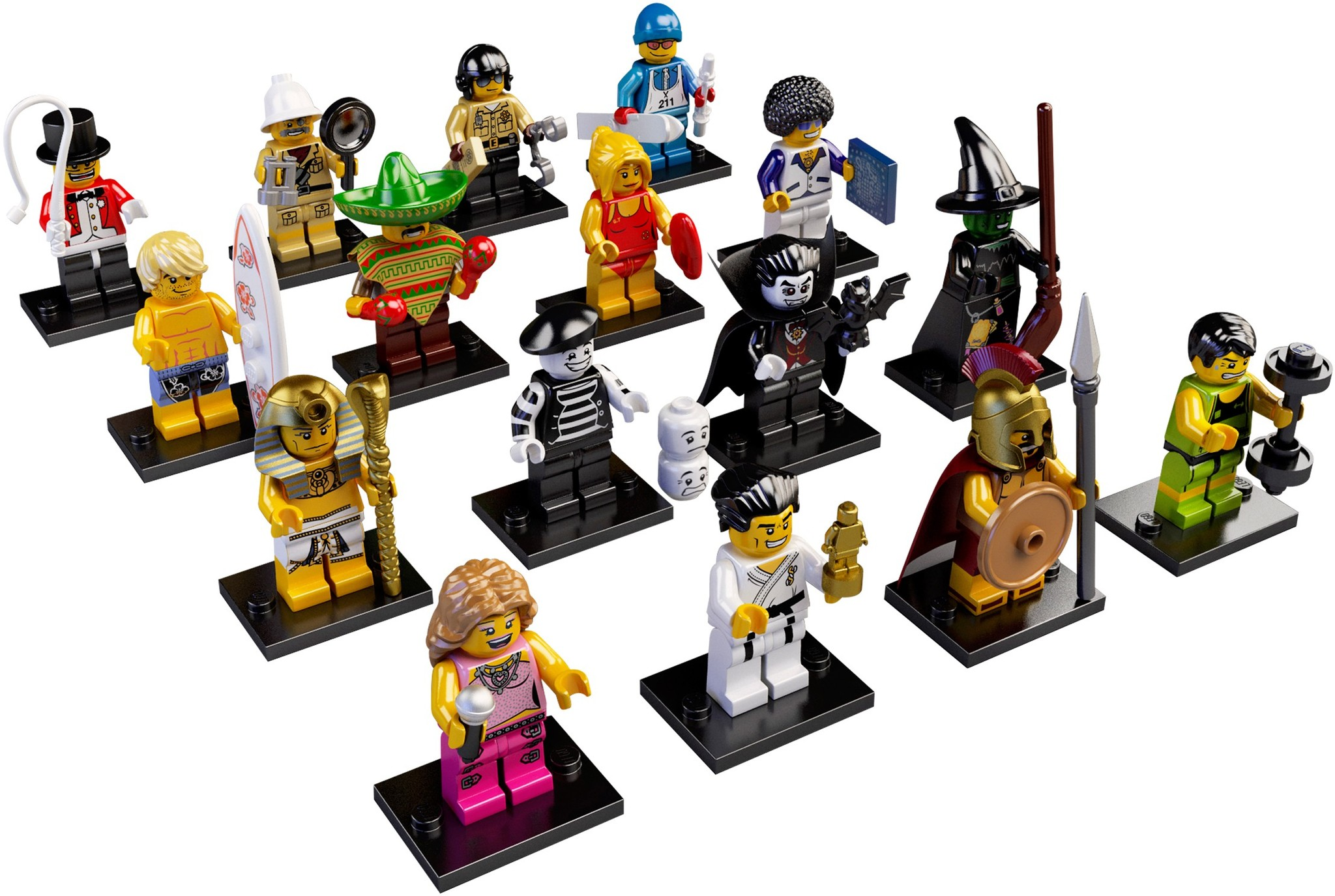 LEGO 8684 - LEGO Minifigures Series 2 Complete Full Set (16 pcs) MISP