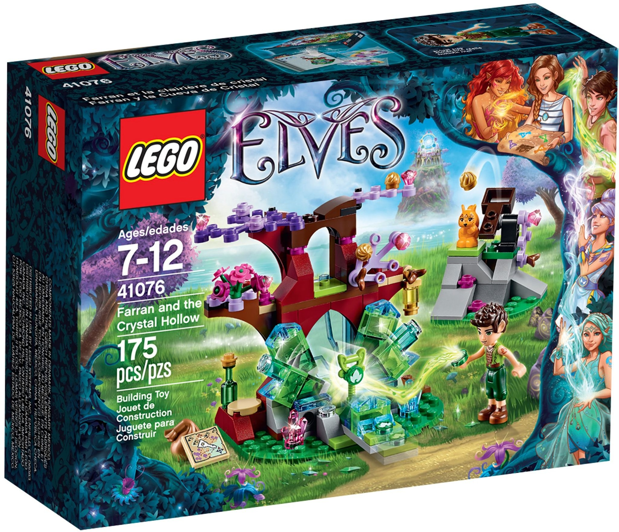 LEGO 41076 - Elves - Farran and the Crystal Hollow