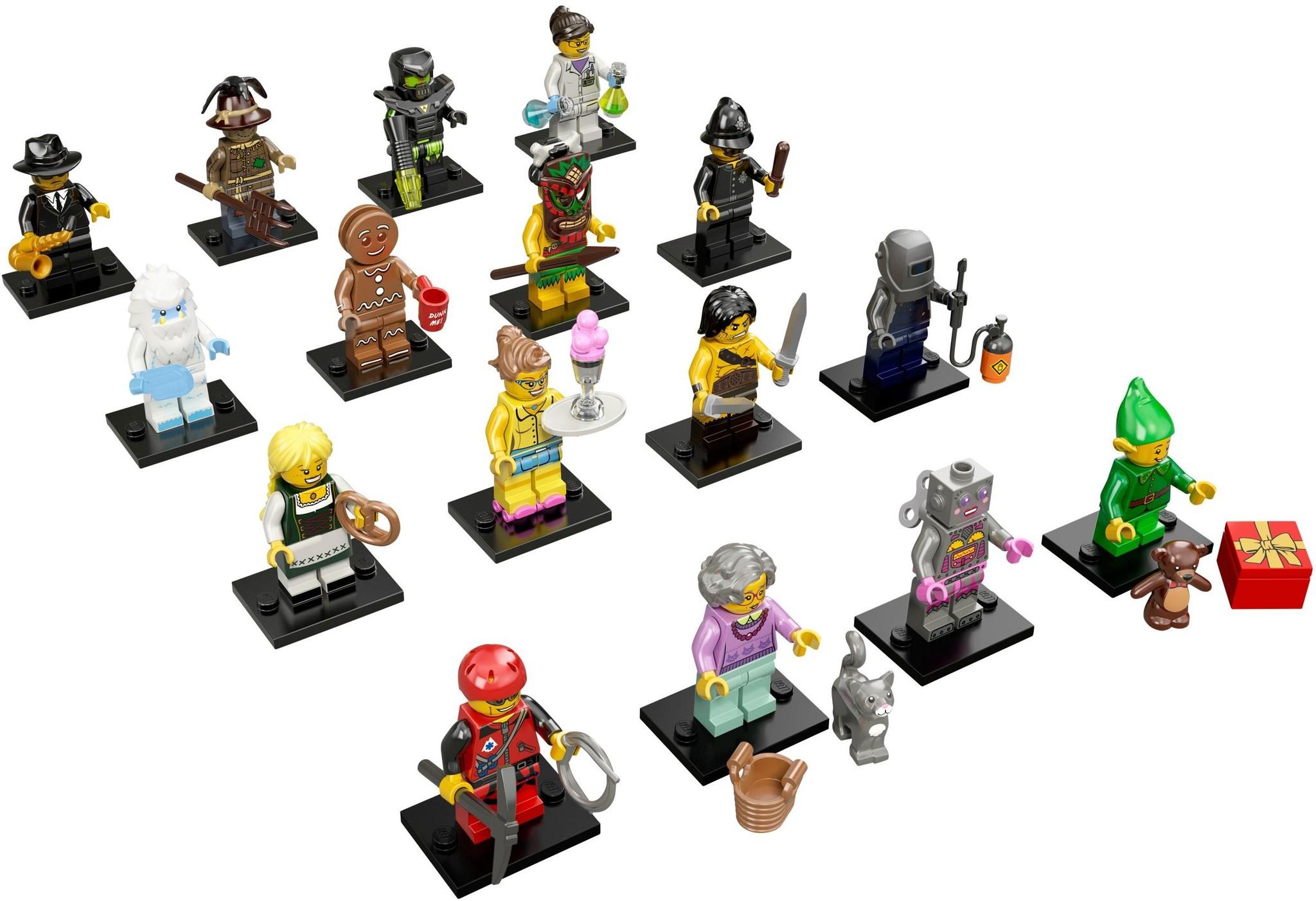 LEGO 71002 - LEGO Minifigures Series 11 Complete Full Set (16pcs) MISP