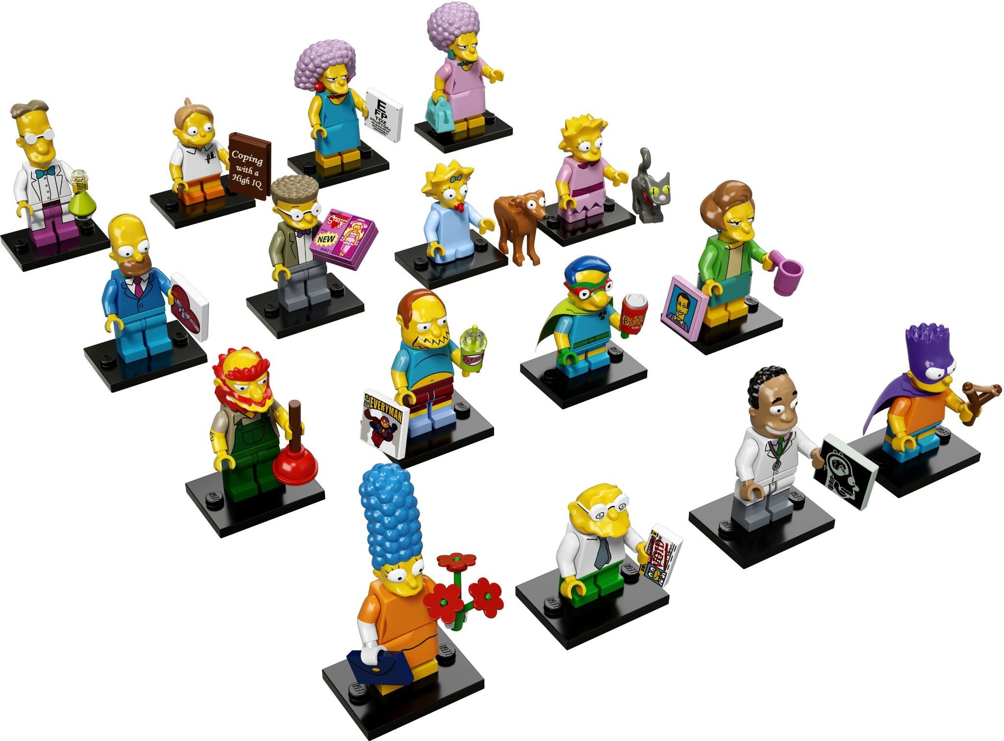 LEGO 71009 - LEGO Simpsons Series 2 Complete Full Set (16 pcs) MISP
