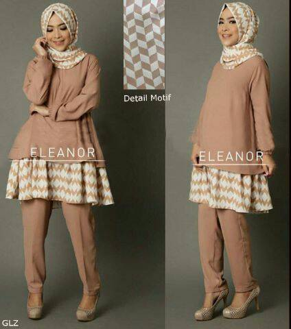 eleanor hijab set 3in1